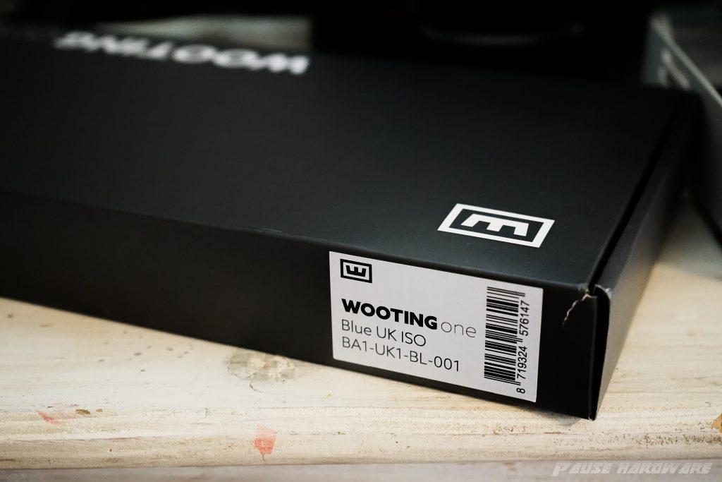 Packaging wooting one