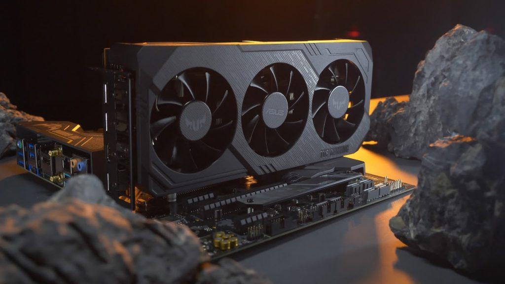 Vue d'ensemble de la Radeon RX 5700 TUF