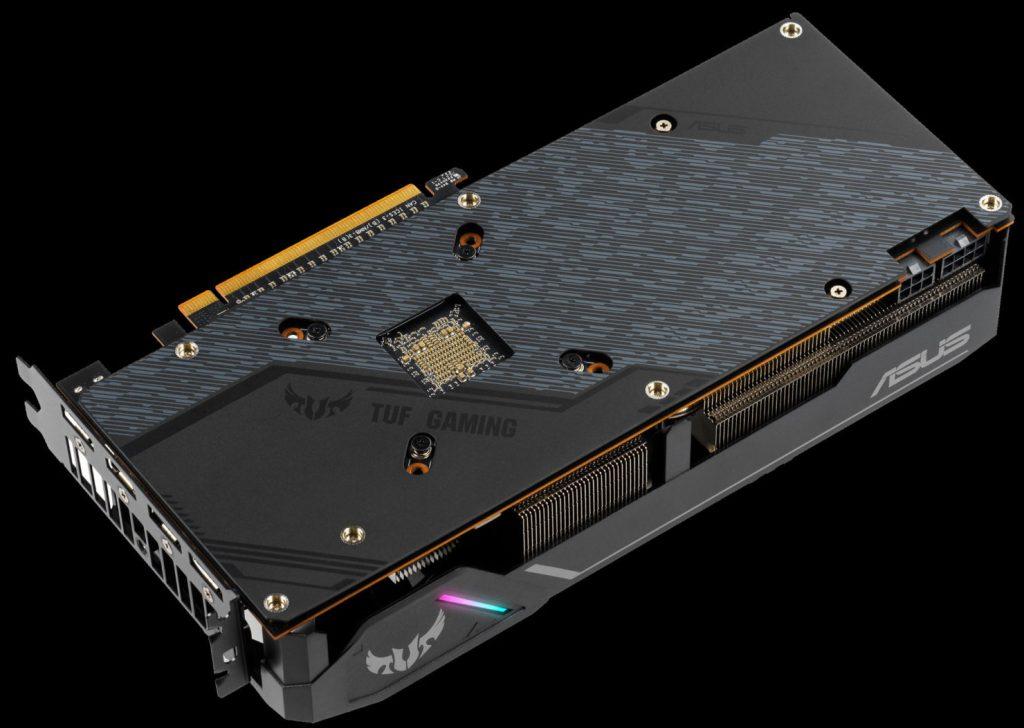 Backplate de la Radeon RX 5700 TUF