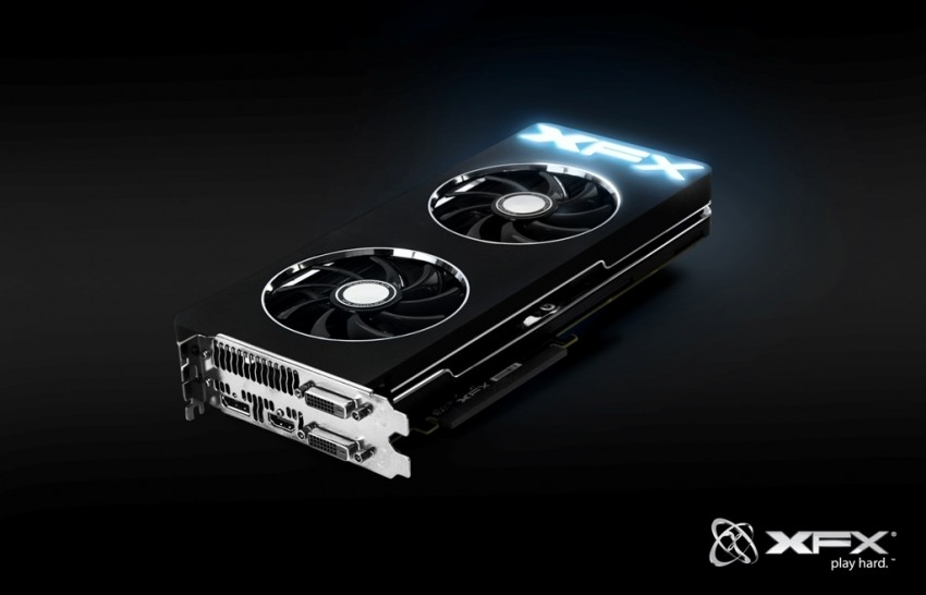 Design officiel de la XFX Radeon RX 5700 XT