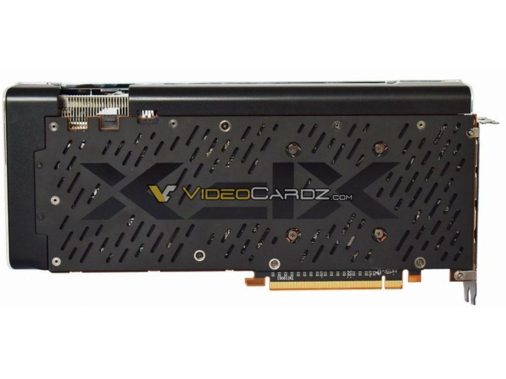 Backplate de la XFX Radeon RX 5700 XT