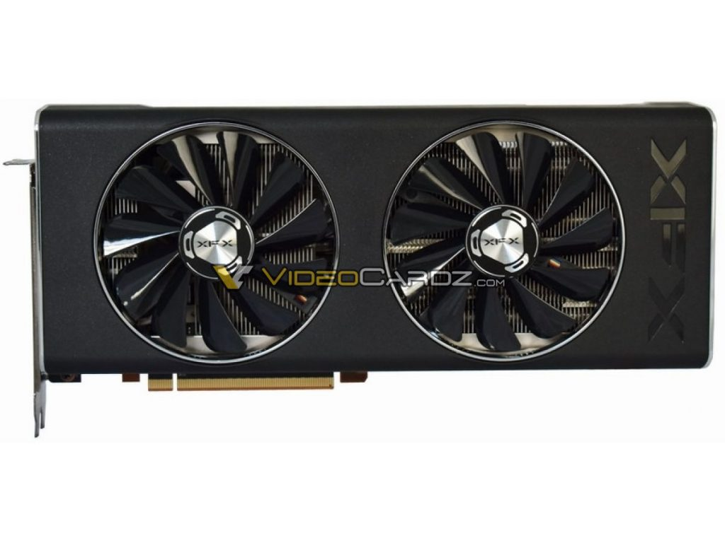 XFX Radeon RX 5700 XT munie de deux ventilateurs 100mm