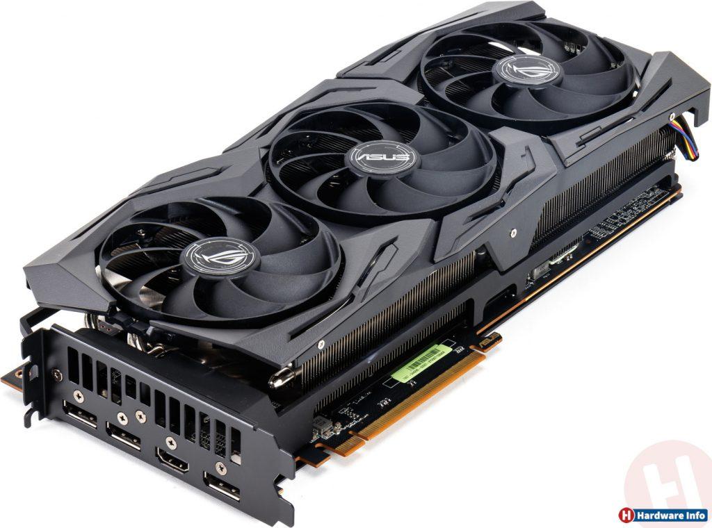 Vue d'ensembled e la Asus Radeon RX 5700