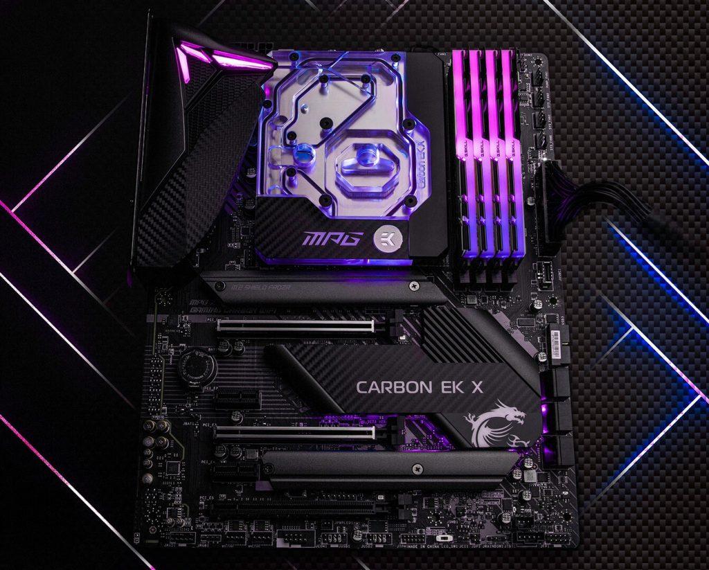 MPG Z490 Gaming Pro Carbon EK X