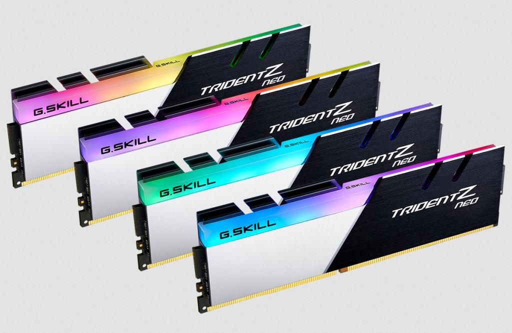 Trident Z Neo DDR4 kit de 4