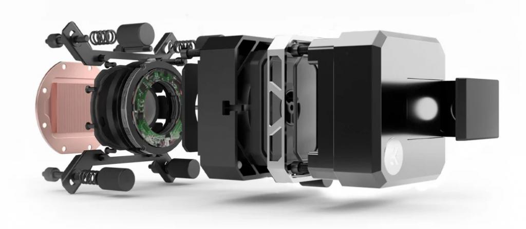 Pompe e l'EK-AIO Elite 360 D-RGB