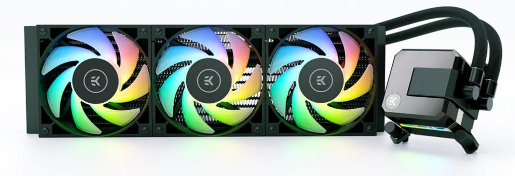 EK-AIO Elite 360 D-RGB de face