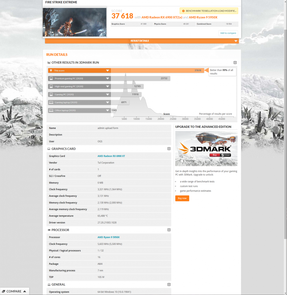 AMD-Radeon-RX-6900-XT-3.3-GHz-Record-Breaking-Overclock-3DMark-Fire-Strike-Extreme-Benchmark